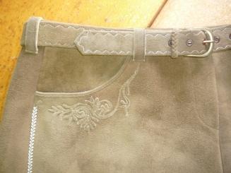 Damenrock - Detail